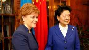 Nicola Sturgeon and Liu Yangdong