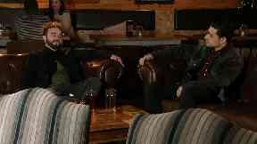 David Platt (Jack P Shepherd) and Josh Tucker (Ryan Clayton) in Coronation Street.