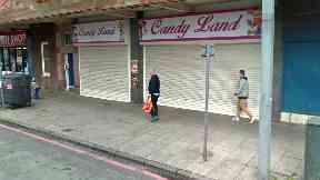 Candy Land, Gorgie Road, Edinburgh.