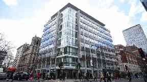 The offices of Cambridge Analytica in central London.