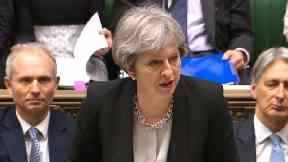 """May will insist that if European states stand shoulder to shoulder in the face of Russian aggression, then """"united, we will succeed""""."""