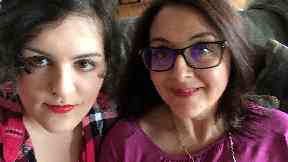 Nina Mega and mother Catherine Simpson on autism for autism awareness month