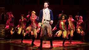Jamael Westman stars as Alexander Hamilton in hit musical, December 2017