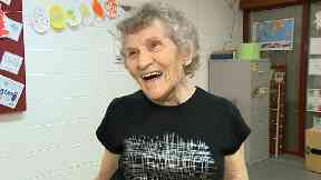 Scots Zumba granny shows no signs of slowing down at 90