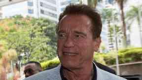 Schwarzenegger underwent a scheduled procedure March 29.