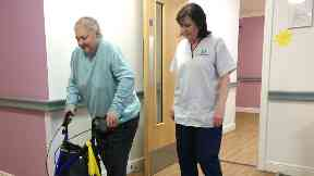 Sheila Pirie, resident at Balhousie Coupar Angus Care Home