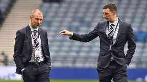 Kenny Miller and Lee Wallace