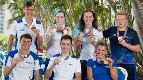 Scotland medal winners Commonwealth Games 2018