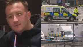 Kenny Reilly: Being treated as attempted murder. Maryhill Glasgow Bilsland Drive