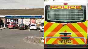 Scotmid: Man arrested after alleged assault. Uddingston Viewpark