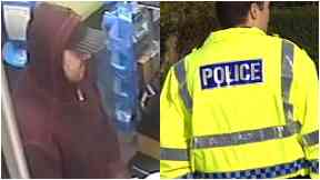 CCTV Scotmid Edinburgh robbery April 2018