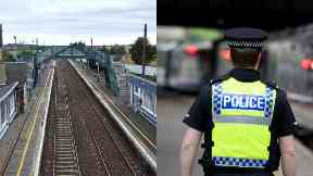 Death: Officers are at the scene. Drem railway station