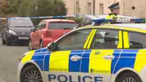Kirkintilloch: Forensic officers called. Alexander Place