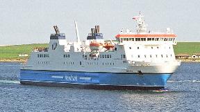 Northlink Hrossey ferry.