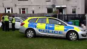 Kirkcaldy: A police helicopter was called. Miller Street Attempted murder