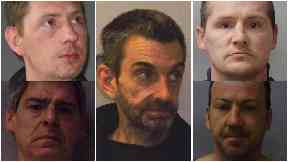 Five men convicted of killing Gary Clampett. In no order Gary Martin, James Connor, John Henderson, Joseph Martin, Thomas Martin.