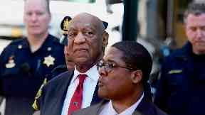 Bill Cosby leaves the Montgomery County Courthouse (Corey Perrine/AP)
