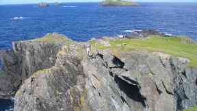 Point of Fethaland in Shetland.