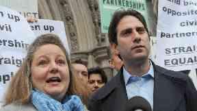 Heterosexual couple take civil partnership fight to UK's highest court