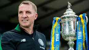 Brendan Rodgers Scottish Cup Final