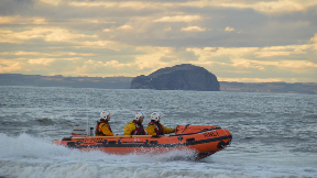 Dunbar lifeboat.