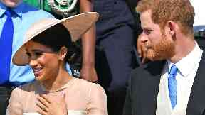 Prince Harry and Meghan Markle attended their first engagement as a married couple.