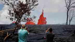 Locals warned as Hawaii volcano sends fresh ash cloud into air