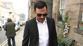 Will Young: He wrote off the car he smashed into. Jedburgh Court