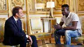 Migrant hero who rescued child from Paris balcony offered French citizenship