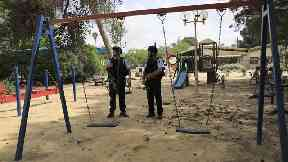 Mortar shells fired from Gaza land near Israeli nursery school