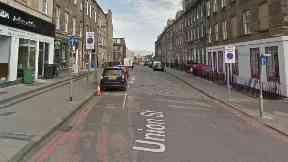 Union Street, Edinburgh.