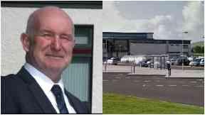 Gordon McDonald, former head teacher of Kirkwall Grammar School