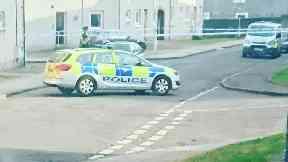 Dysart: Man taken to hospital. Fife High Street