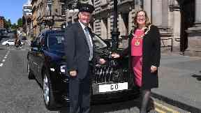 Lord Provost Eva Bolander Rolls Royce
