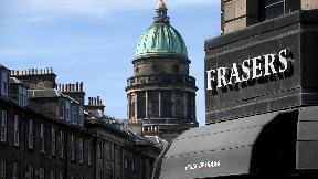 House of Fraser store in Princes Street.