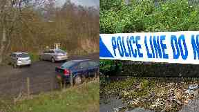 Kinnordy: Nature reserve cordoned off by police. Kinnordy Nature Reserve