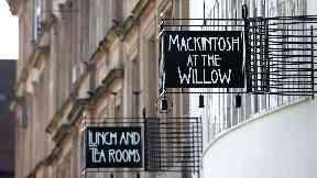 Charles Rennie Mackintosh willow tea room