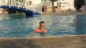 Liam Royle was pictured swimming when he claimed to be ill.