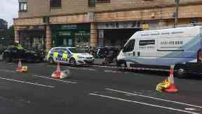 Dalry Road: Woman in critical condition. Edinburgh