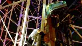 Riders plunge to ground as roller coaster derails in Florida