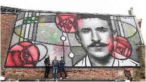 Mackintosh mural