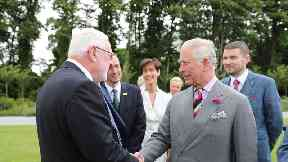Charles shakes hands with former IRA gun runner as Ireland trip ends