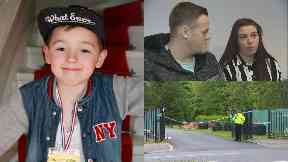 Ciaran Williamson: Died while playing with friends.