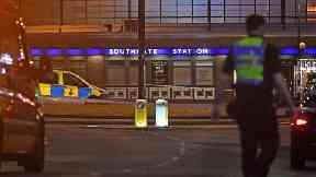Man arrested over Tube station blast