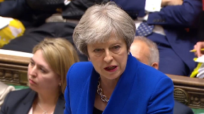 Theresa May PMQs June 20 2018.