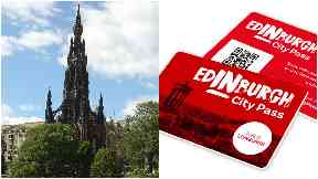 Scott Monument and Edinburgh City Pass.