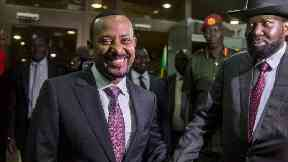 Explosion at large rally for new Ethiopian prime minister