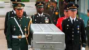 US to send caskets to North Korea to return war remains