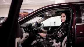 Women prepare to get behind the wheel as Saudi Arabia driving ban ends