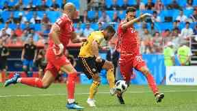 Form: Eden Hazard scored twice.
